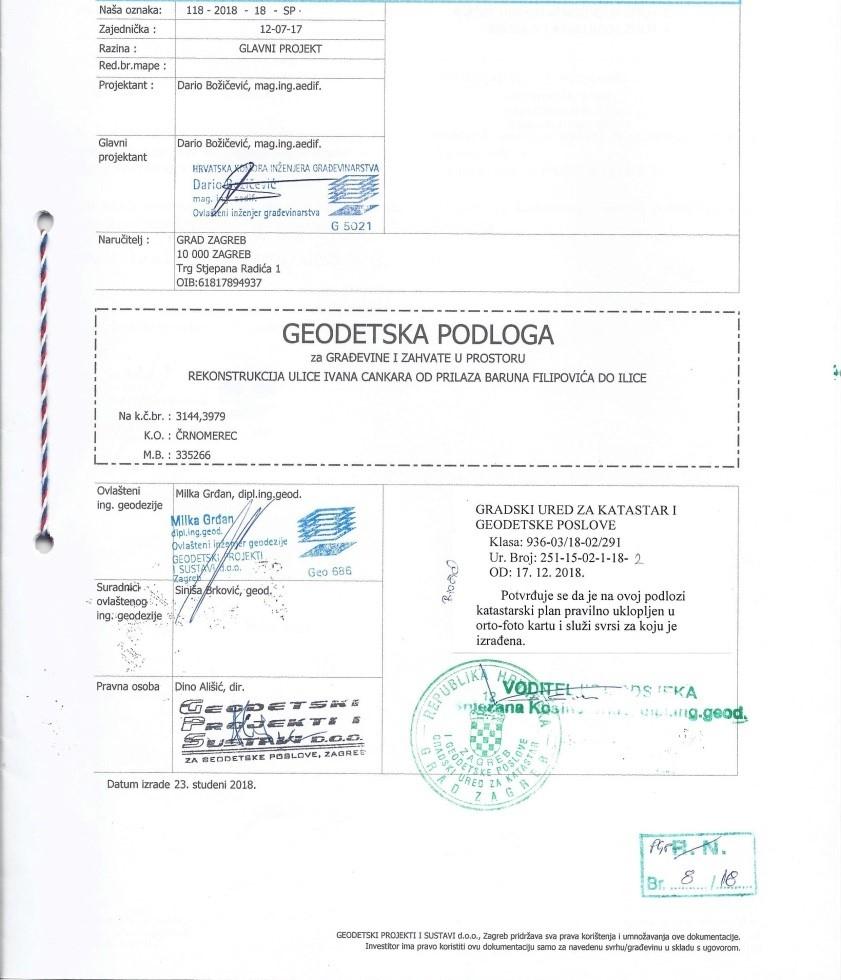 Geodetska Podloga Geodetski Projekti I Sustavi D O O